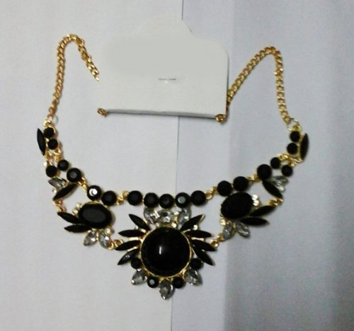 Necklace - Black FU-151