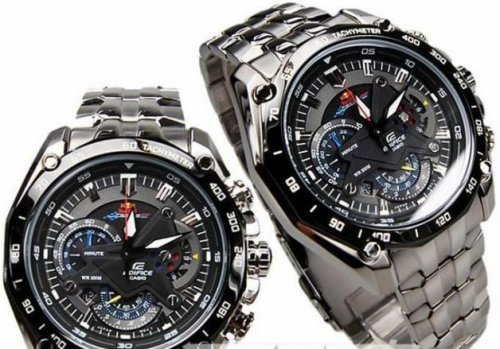 CASIO MENS WATCH EDIFICE EF-550RBSP