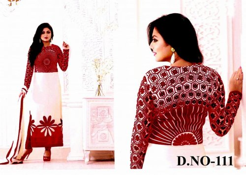 Unstitched Cotton Block Printed Salwar Kameez seblock-111
