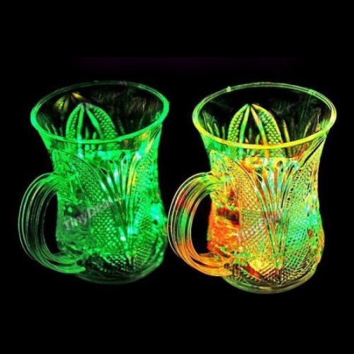 Pack of 2 Pieces Rainbow LED Mug