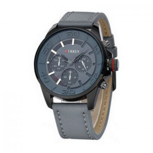 Curren Luxury Leather Strap Military Watches