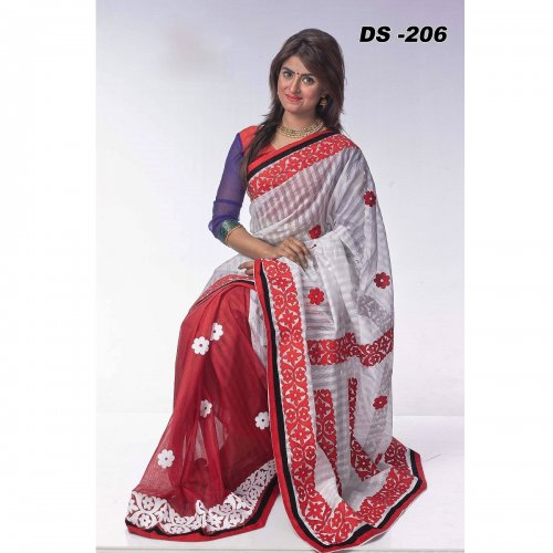 Step Kota Ablique saree