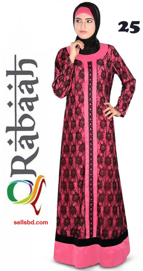 Fashionable muslim dress islamic clothing Rabaah Abaya Burka borka 25