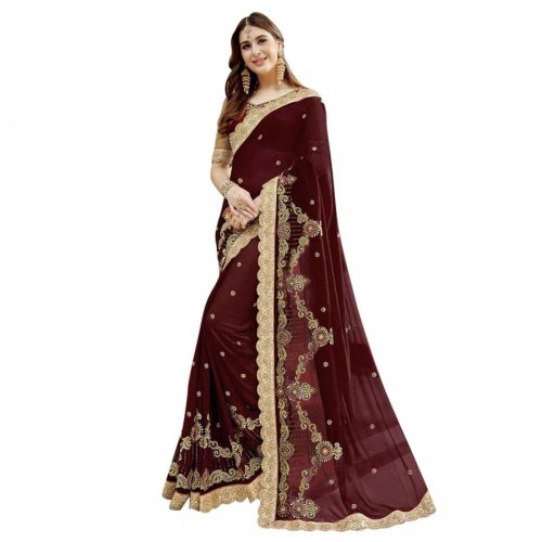 Weight Less Georgette saree Hp-35