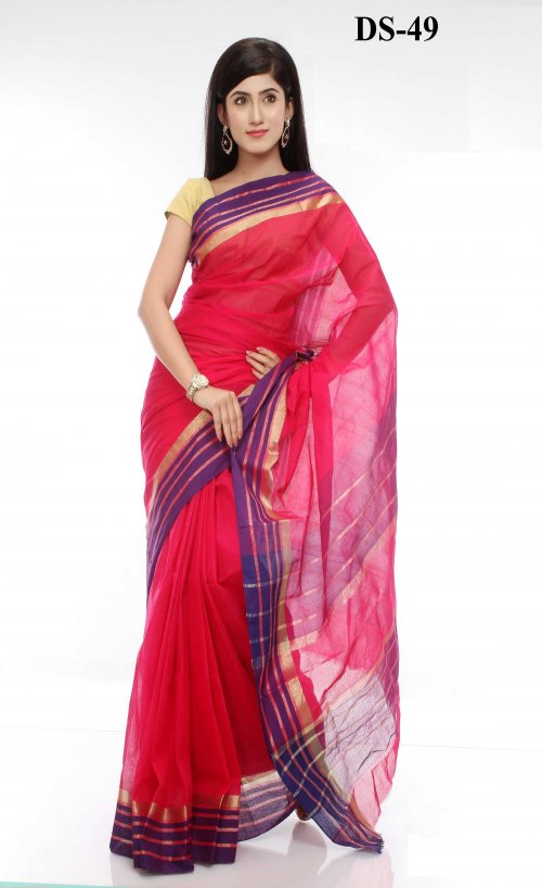 Boishakhi tat cotton Saree Bois-49