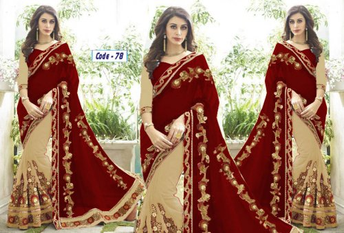 Weight Less Georgette saree Hp-78