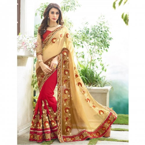 Weight Less Georgette saree SS-643