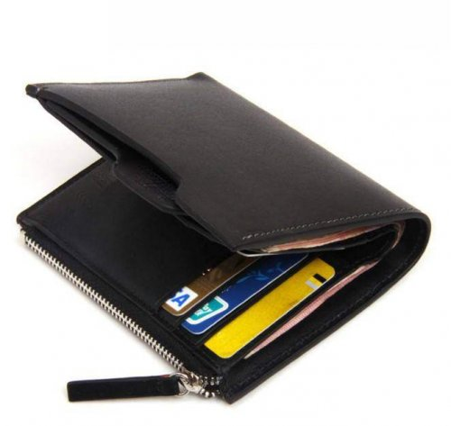 New Arrival Casual Cowhide Men's Wallet 9