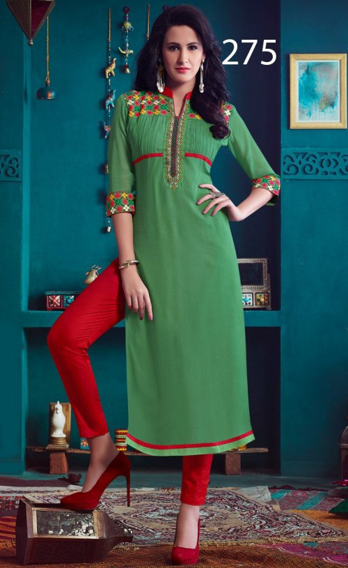 Latest Designers Kurti party wear ladies salwar suits 275