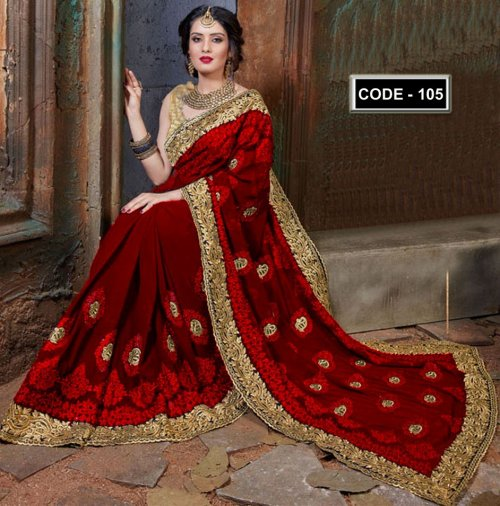 Weight Less Georgette saree Hp-105