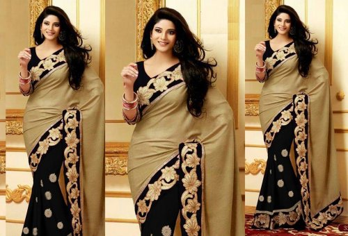 Weight Less Georgette saree SS-370