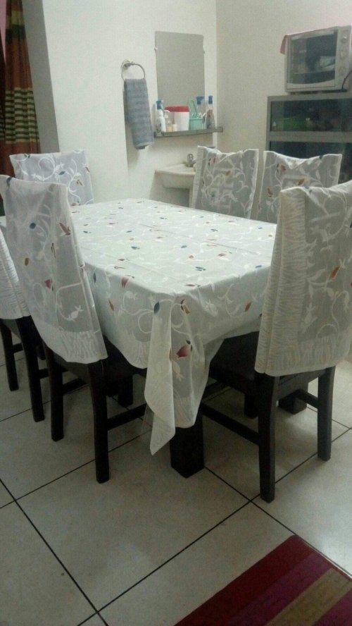 Indian net cotton Table cloth