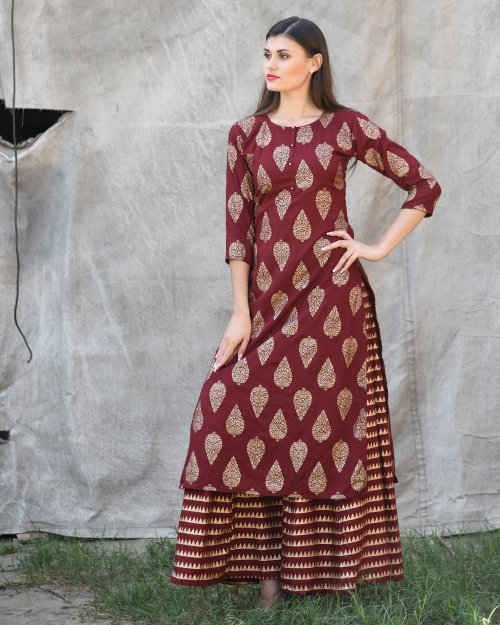 unstiched rajdhani voyal block printed cotton salwar kameez seblock-902
