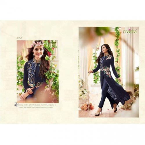 Party Wear Salwar Kameez Suit GRAUN 76D