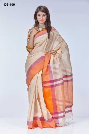 Boishakhi tat cotton Saree Bois-109