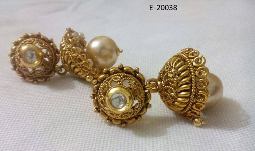 Gold Plated jewelry ornaments Earrings E-20038