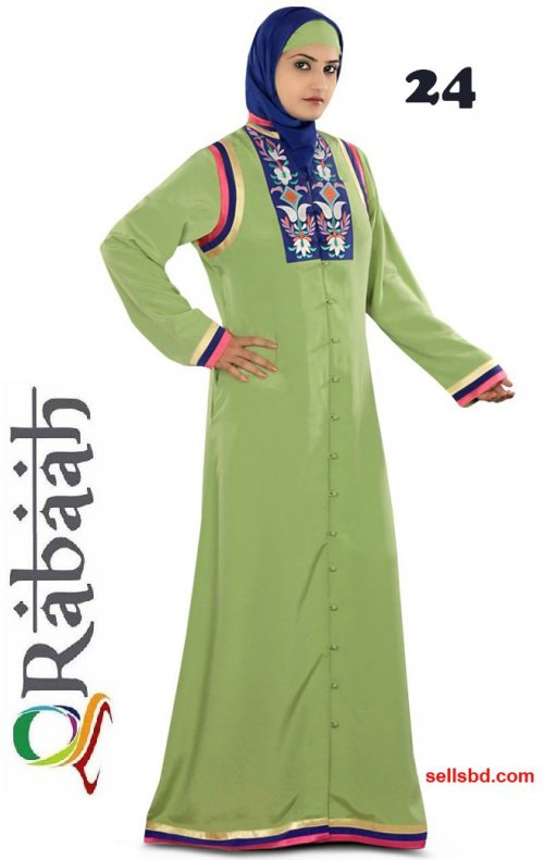Fashionable muslim dress islamic clothing Rabaah Abaya Burka borka 24
