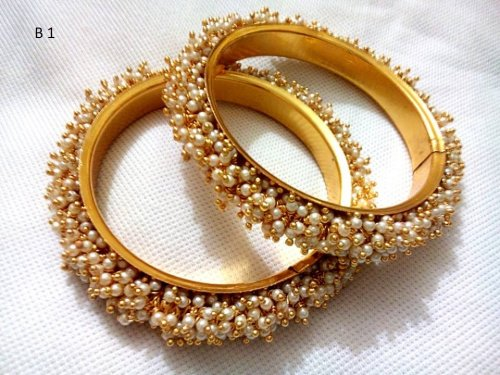 Gold Plated jewelry ornaments Bangles B-1