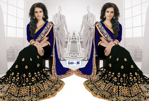 Weight Less Georgette saree Hp-96