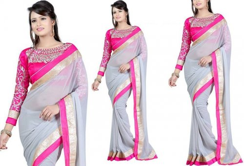 Weight Less Georgette saree SS-250