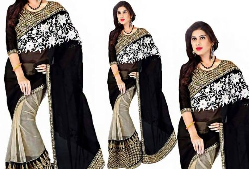 Weight Less Georgette saree SS-104
