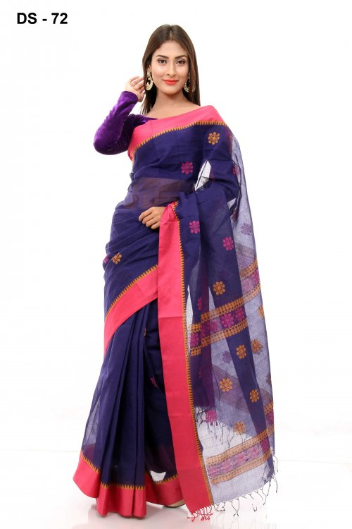 Boishakhi tat cotton Saree Bois-72