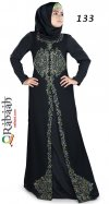Fashionable muslim dress islamic clothing Rabaah Abaya Burka borka 133