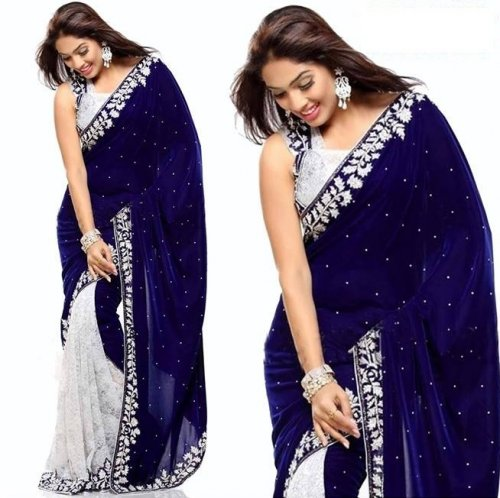 Weight Less Georgette saree SS-213