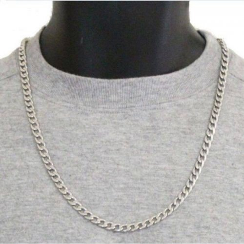 Silver Plated Chain for Men