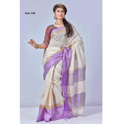 tat cotton saree bois-168