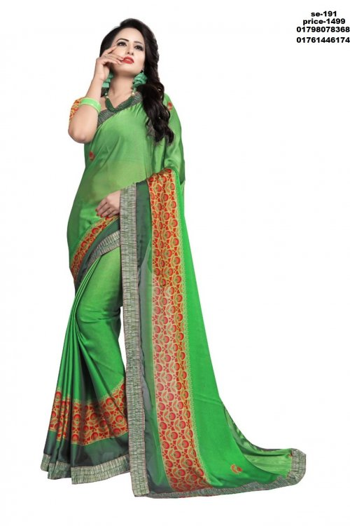 Indian Soft Silk Saree se-191