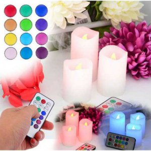 Remote Controlled Multi Candles