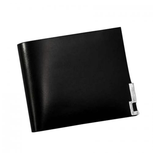 Bostanter Men's Black Leather Wallet