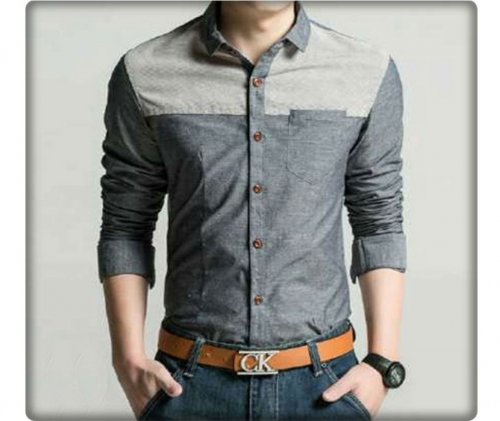 Full sleeve jents casual shirt 32