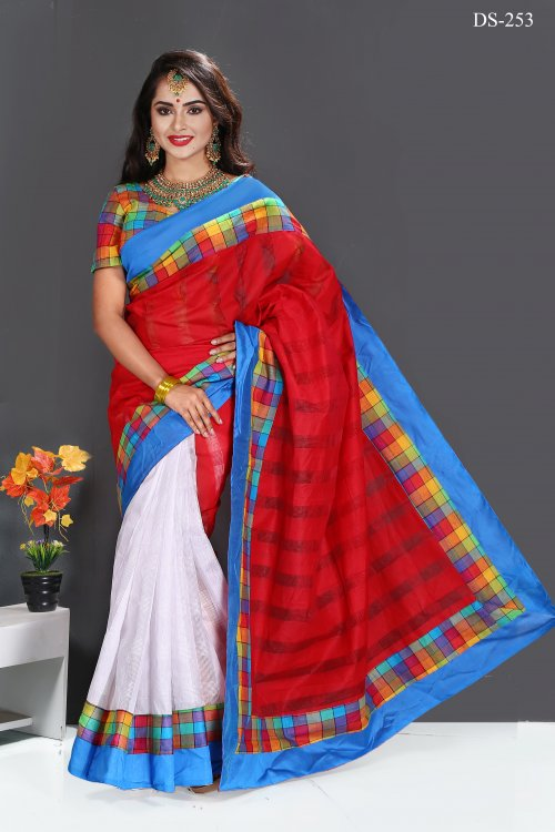 silk saree for woman bois-253