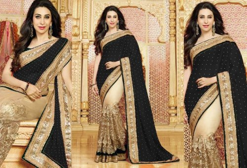 Weight Less Georgette saree SS-586