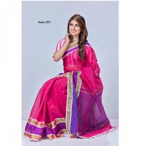 tat cotton saree bois-153
