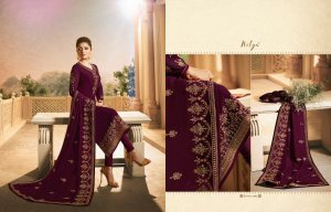 Un-stitched georgette with embroidery drashti dhami salwar kameez