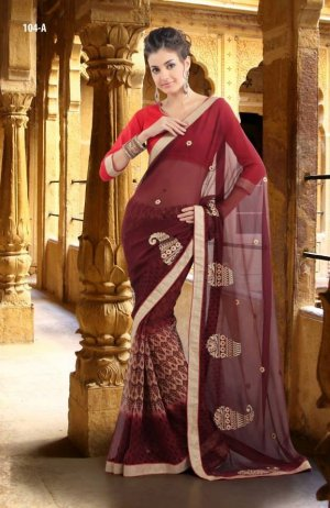 Daduvaani Designer Fancy Saree code 104-A