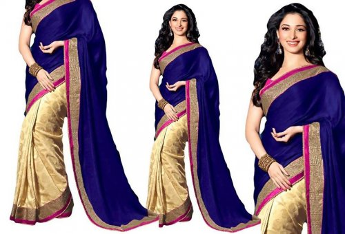 Weight Less Georgette saree SS-141