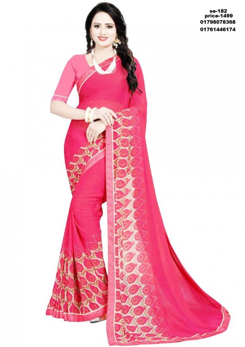 Indian Soft Silk Saree se-182