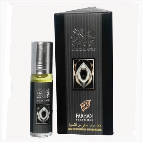 Al Hajr Al Aswad Alcohol free Attar 6ml by Farhan Perfumes