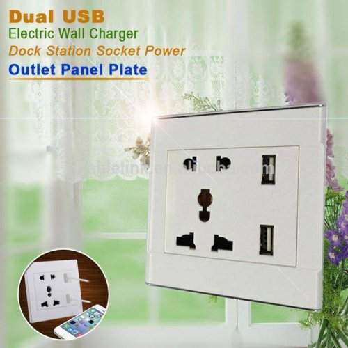 Electric Switch with USB Port
