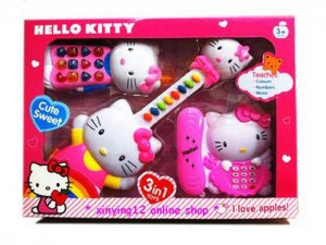 Fm Hello Kitty Toys 3 in 1