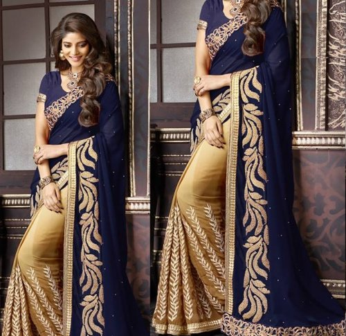 Weight Less Georgette saree SS-246