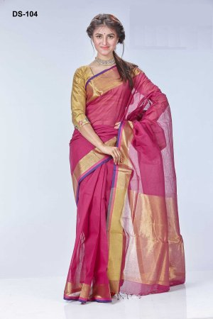Boishakhi tat cotton Saree Bois-104