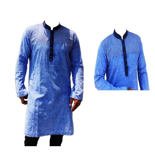 Cotton Casual eid Long Panjabi ml-2