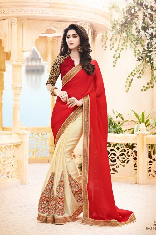 Weight Less Georgette saree SS-239