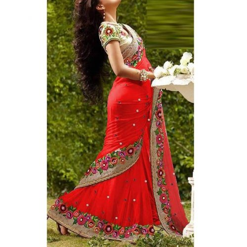 Weight Less Georgette saree Hp-67_2