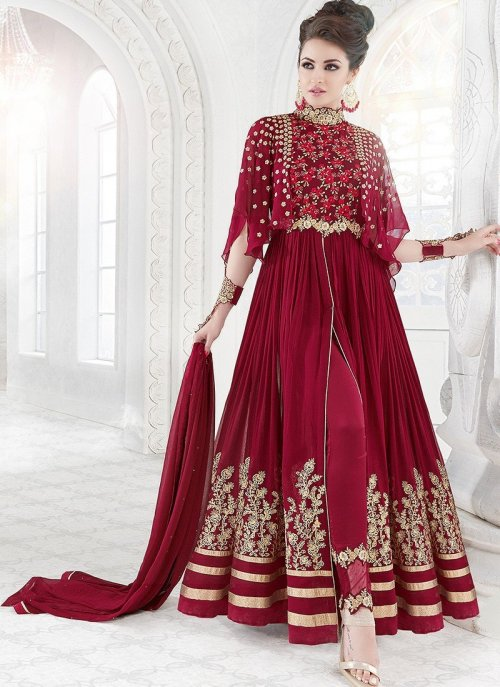 heavy party wear exclusive salwar kameez krishna creation 7211